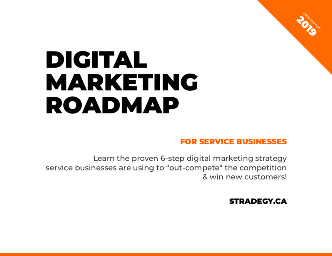 Document Cover - Digital Marketing Roadmap