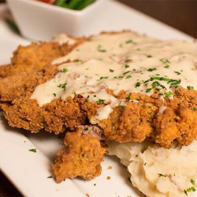 Bricktown Brewery Chicken-Fried Steakl
