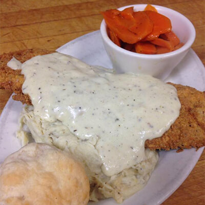 New Atlas Grill Chicken-Fried Steak