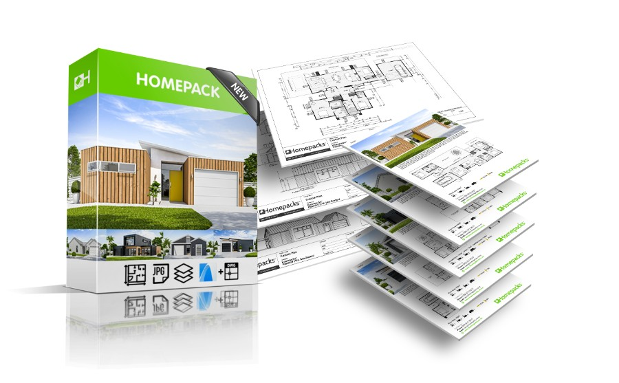 Homepacks house plan package