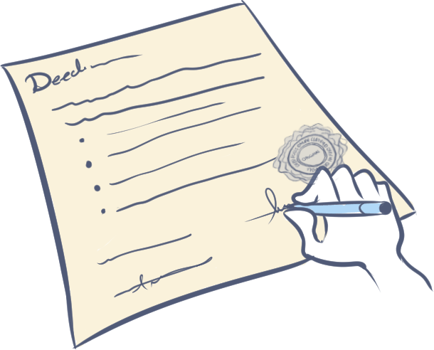 Witness (execute) your Deed Poll(s)