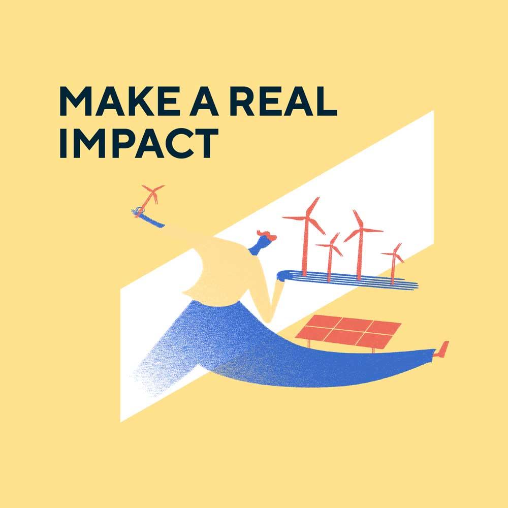 Make real impact graphic eciu