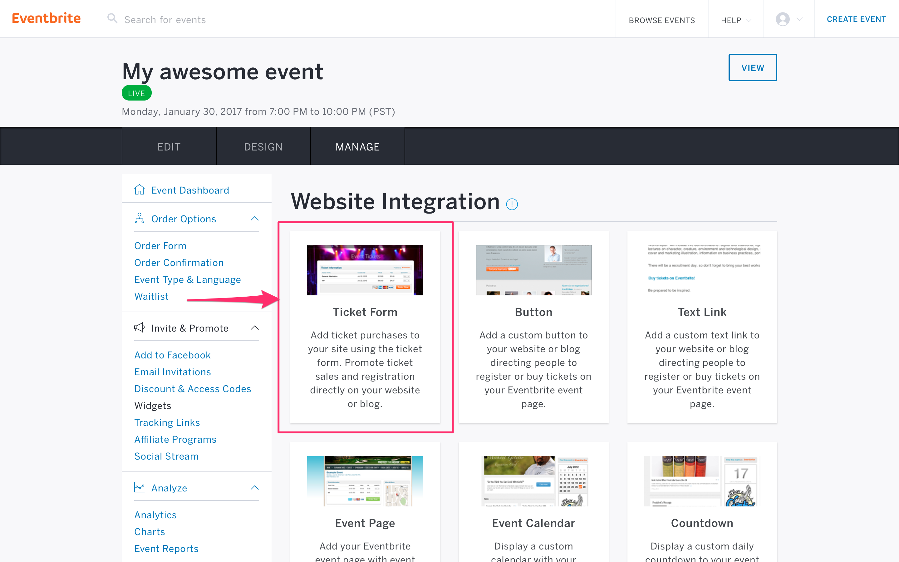 Eventbrite Integration | Webflow University