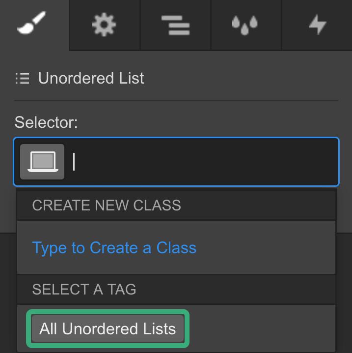 Lists | Webflow University