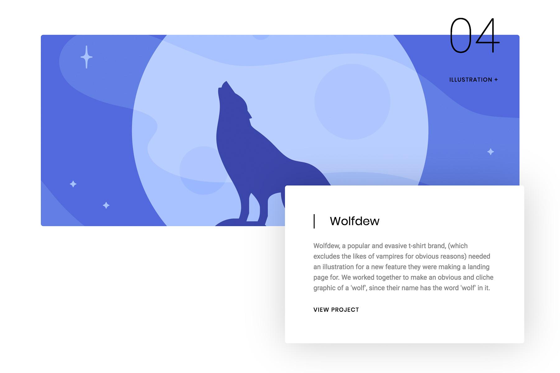 Creating a custom portfolio