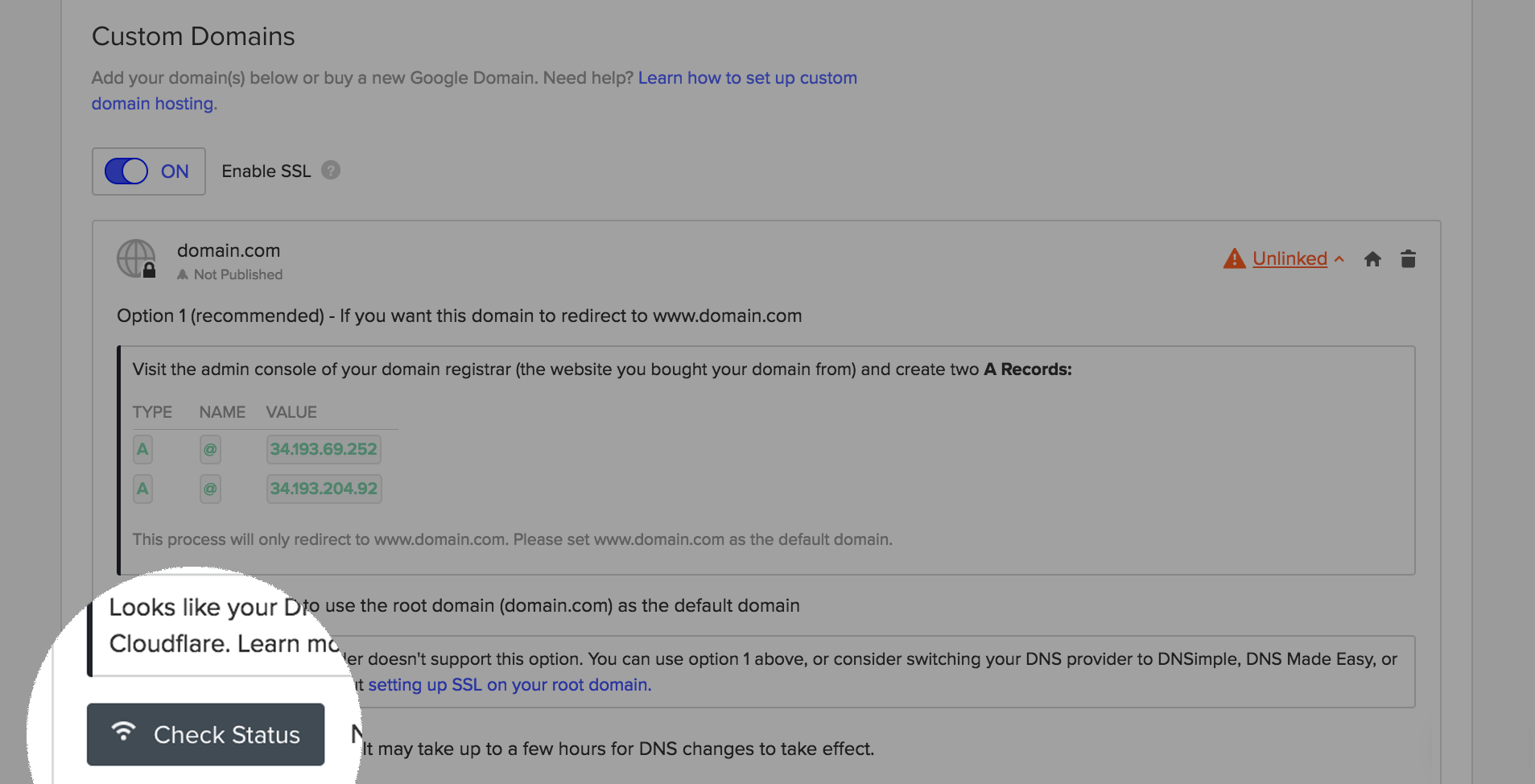 Troubleshoot your DNS settings | Webflow University