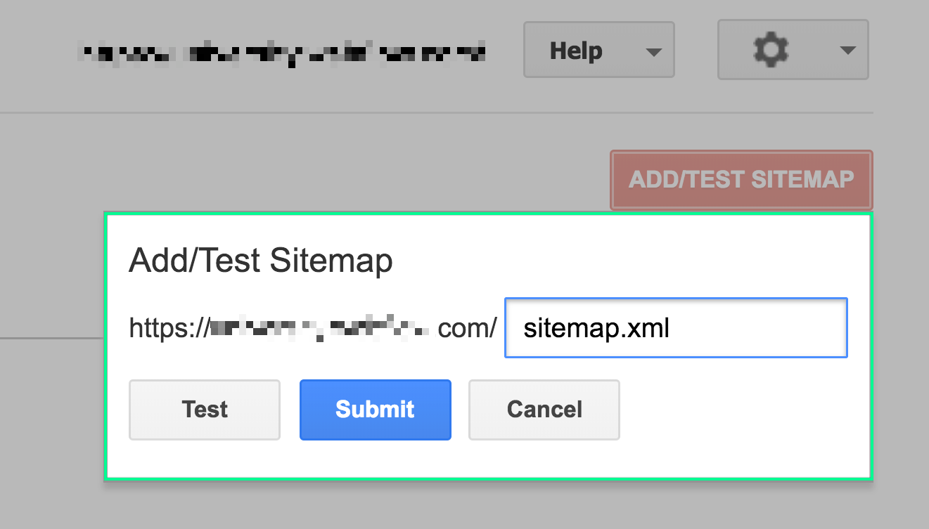 submit a sitemap to Google