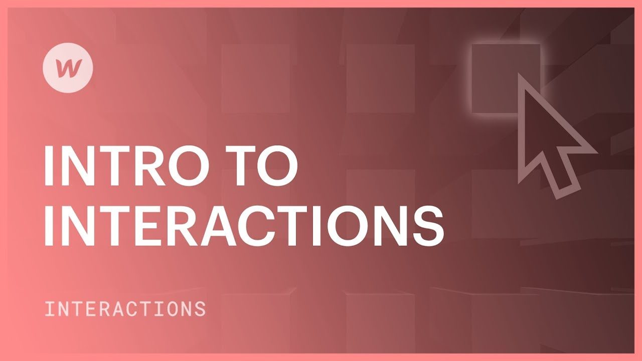 Intro to Interactions