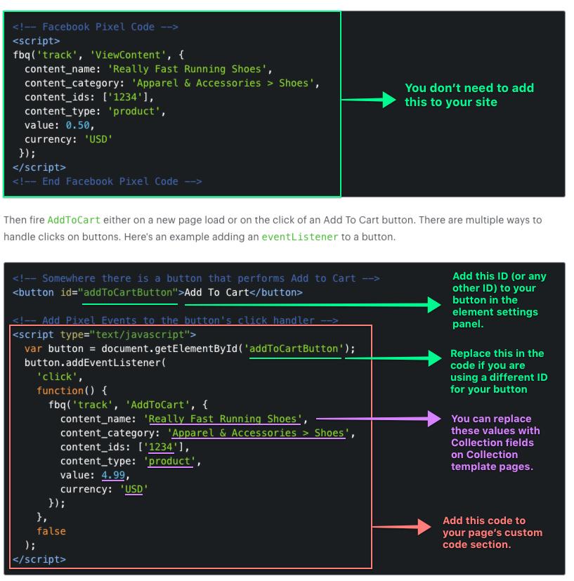 Facebook Pixel | Webflow University