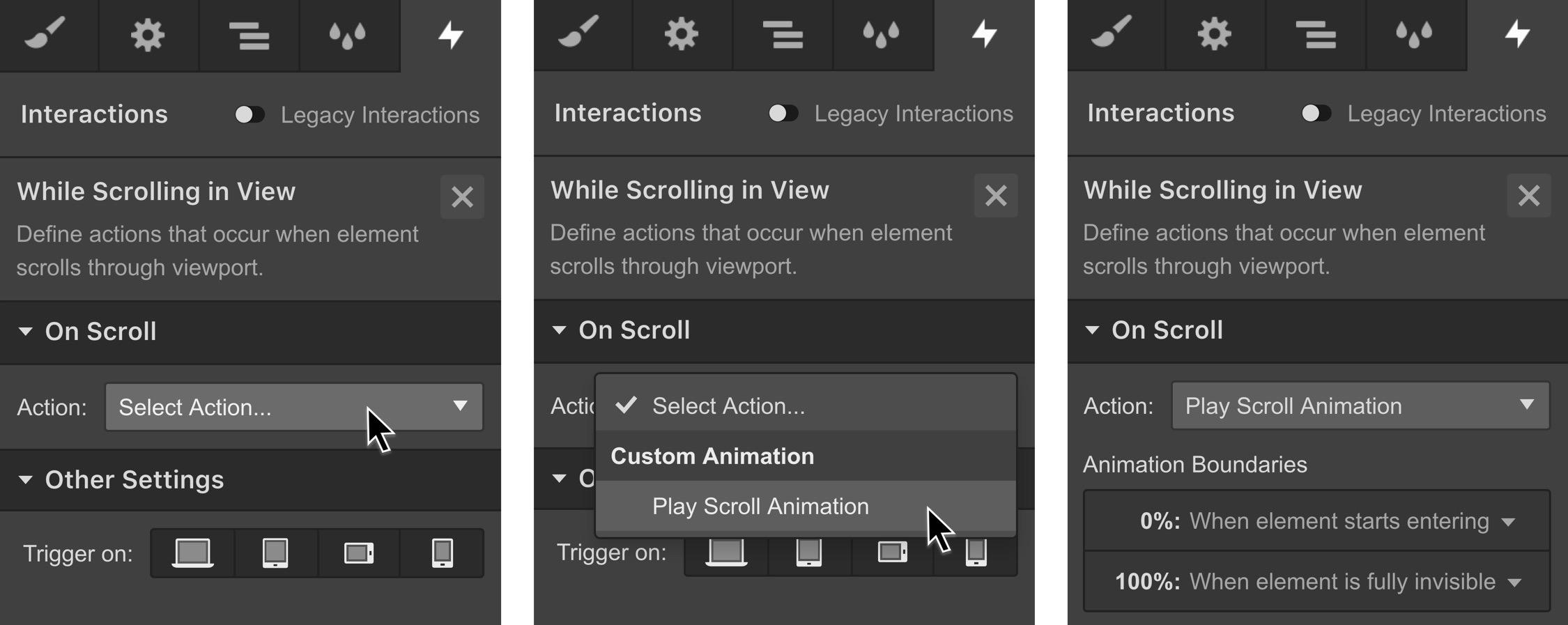 Parallax movement on scroll | Webflow University