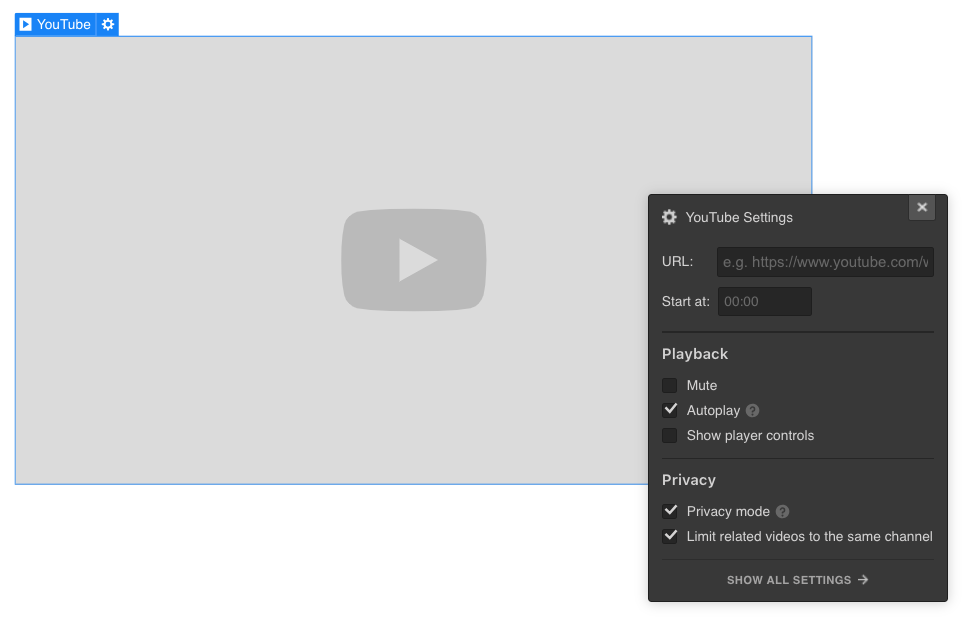 YouTube video | Webflow University