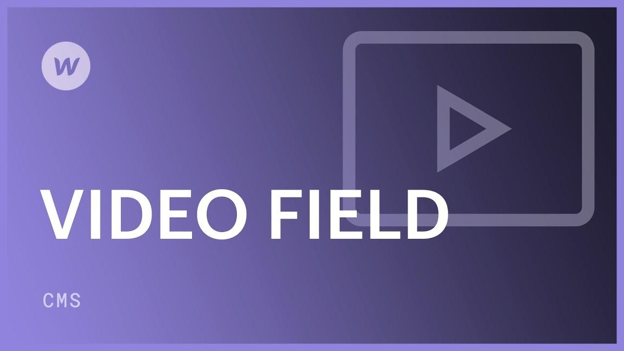Video field