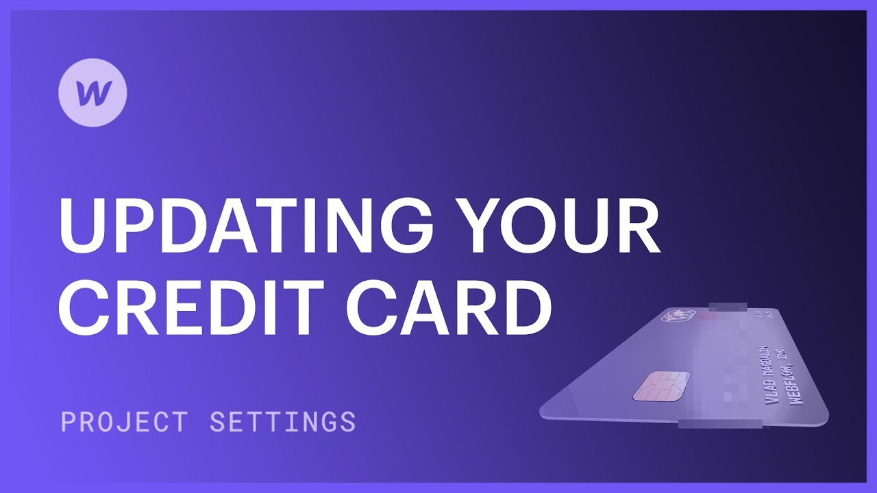 Update your credit card