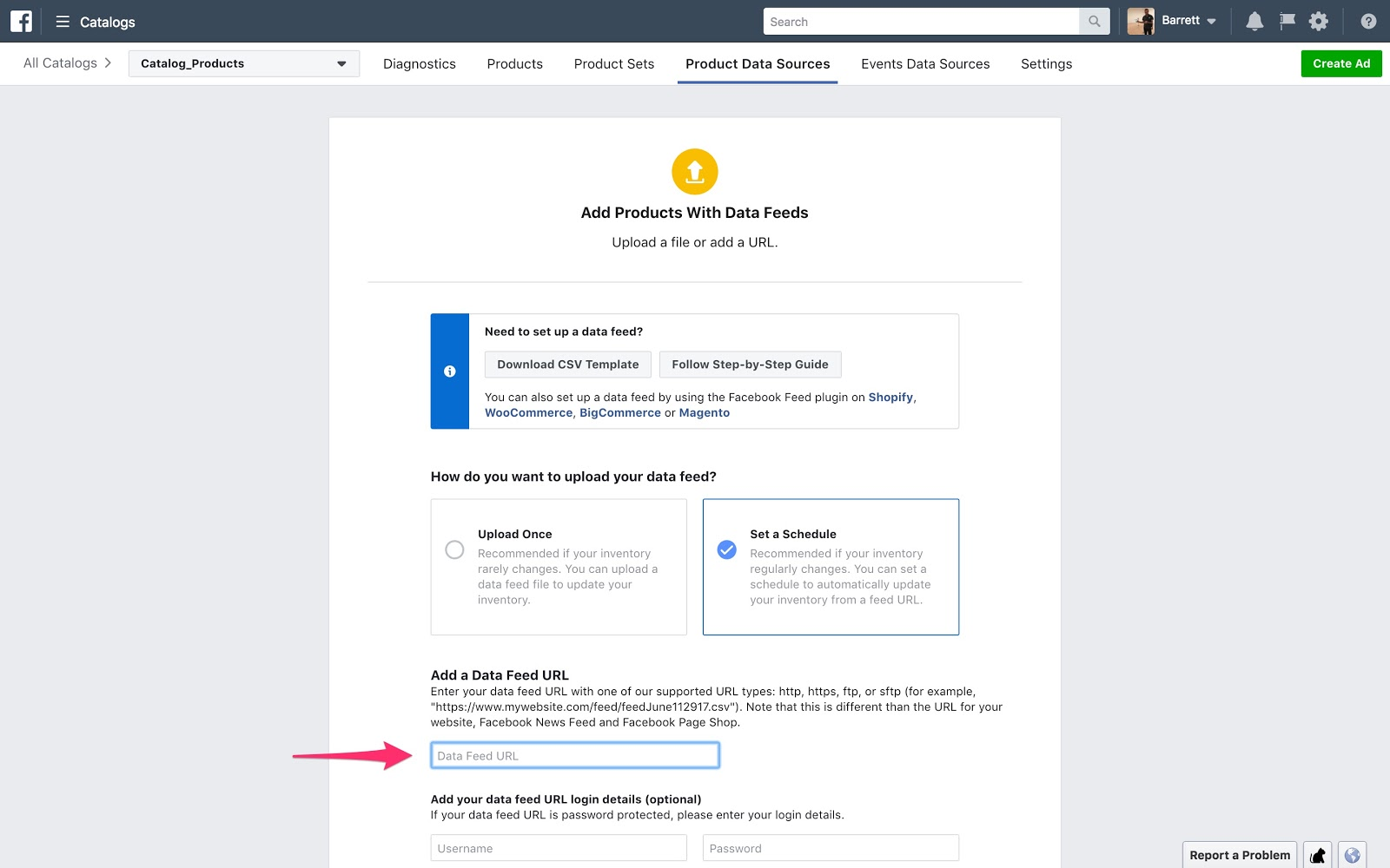 Sync products to Facebook Catalog Manager | Webflow University