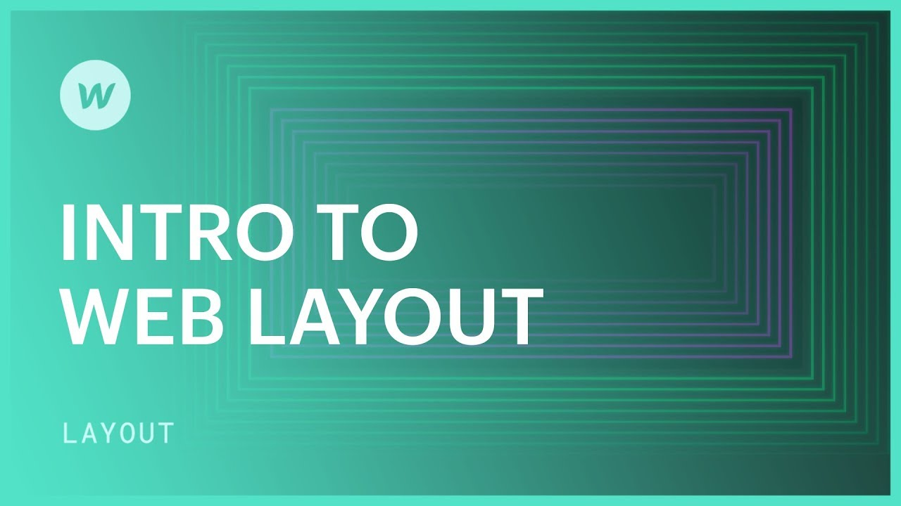 Intro to web layout