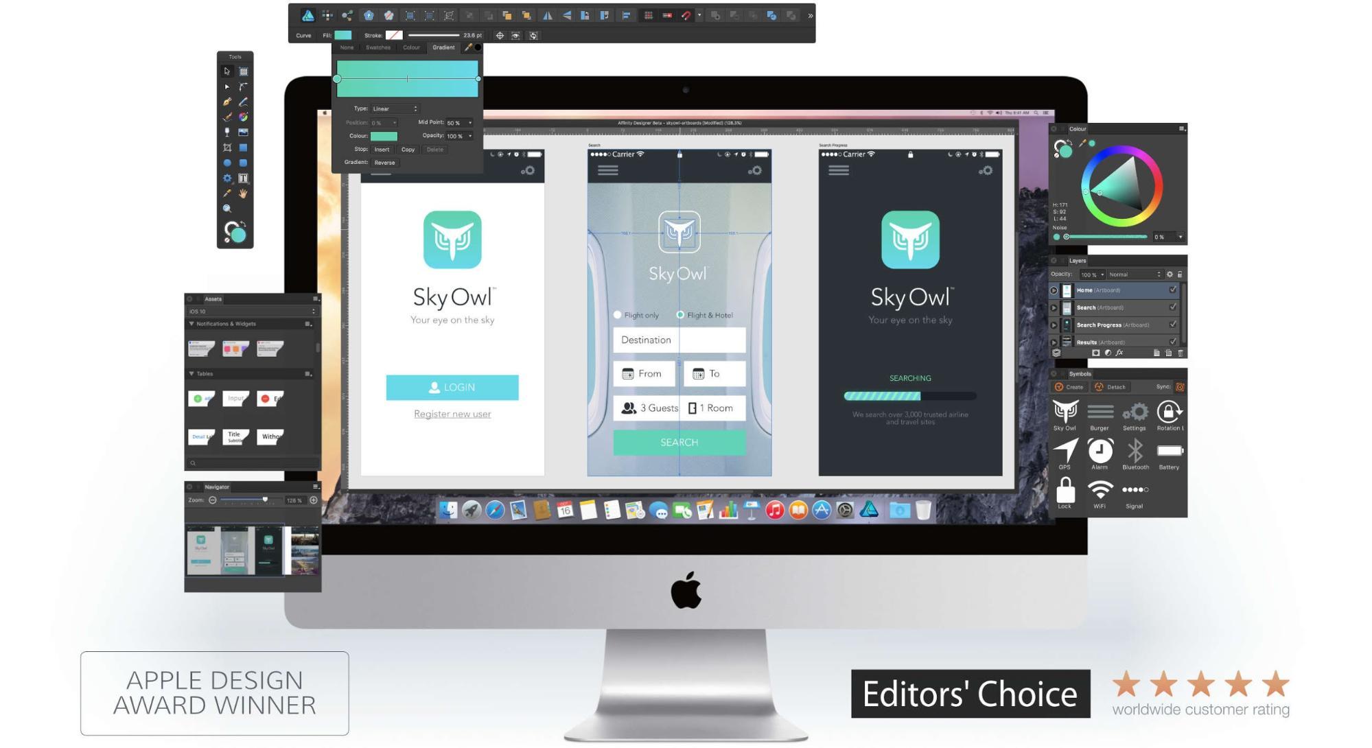 Affinity Designers get a UI-focused update