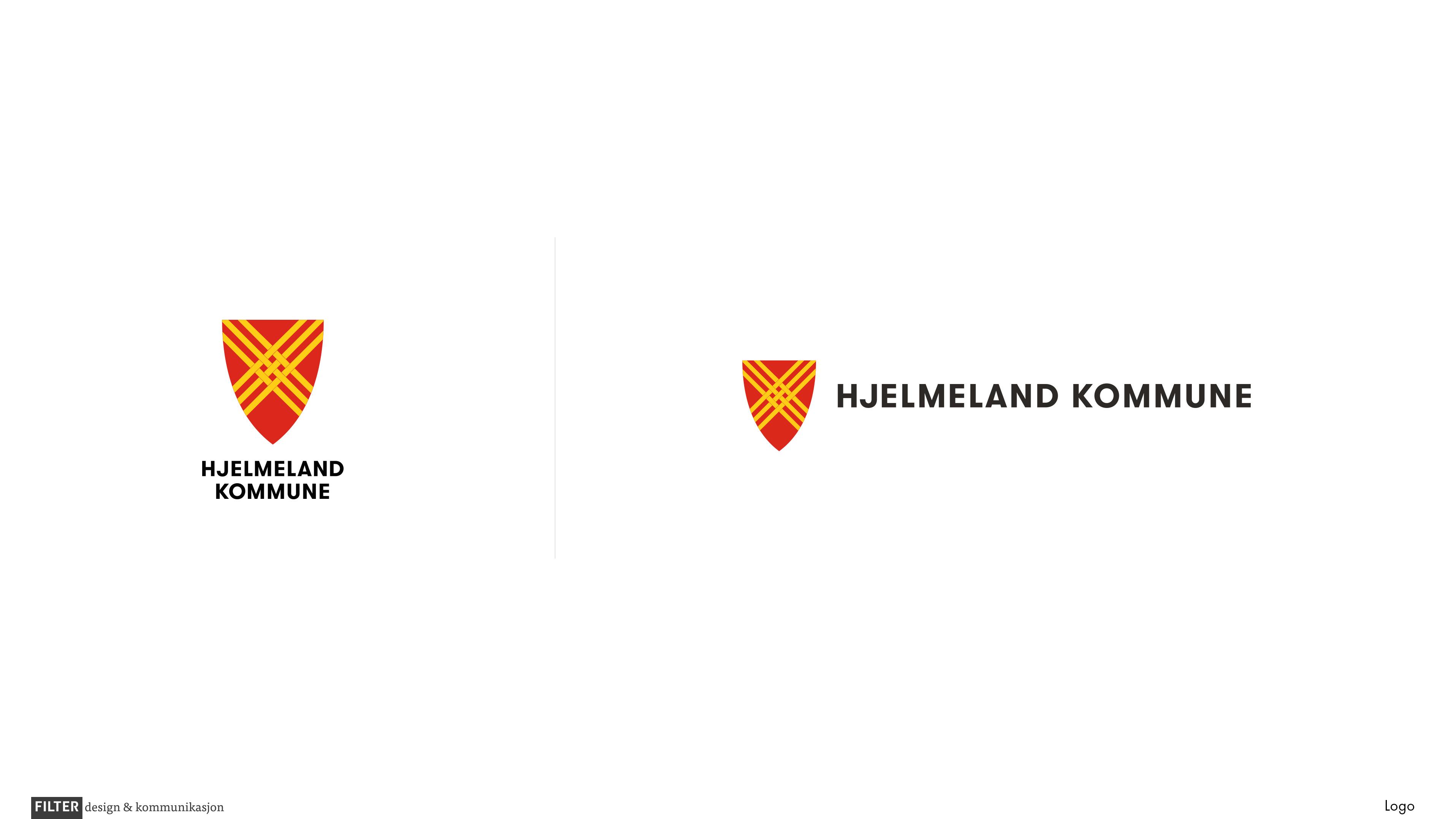 Hjelmeland kommune logo