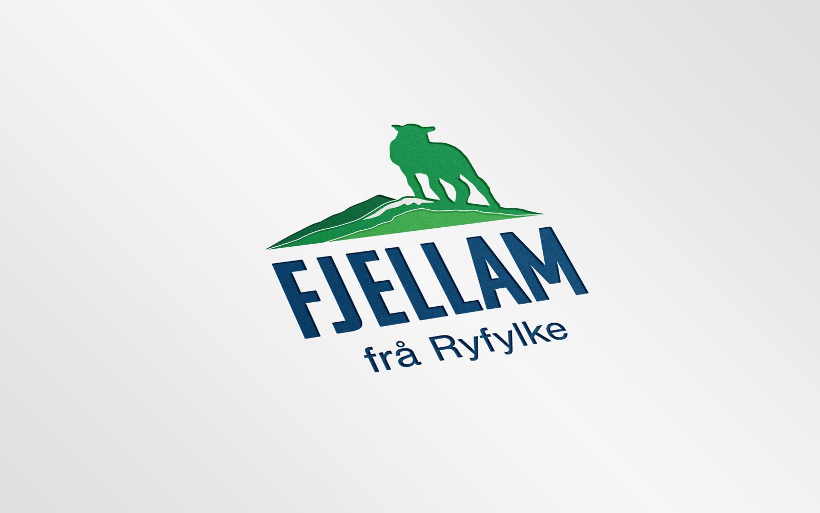 Mockup av logoen
