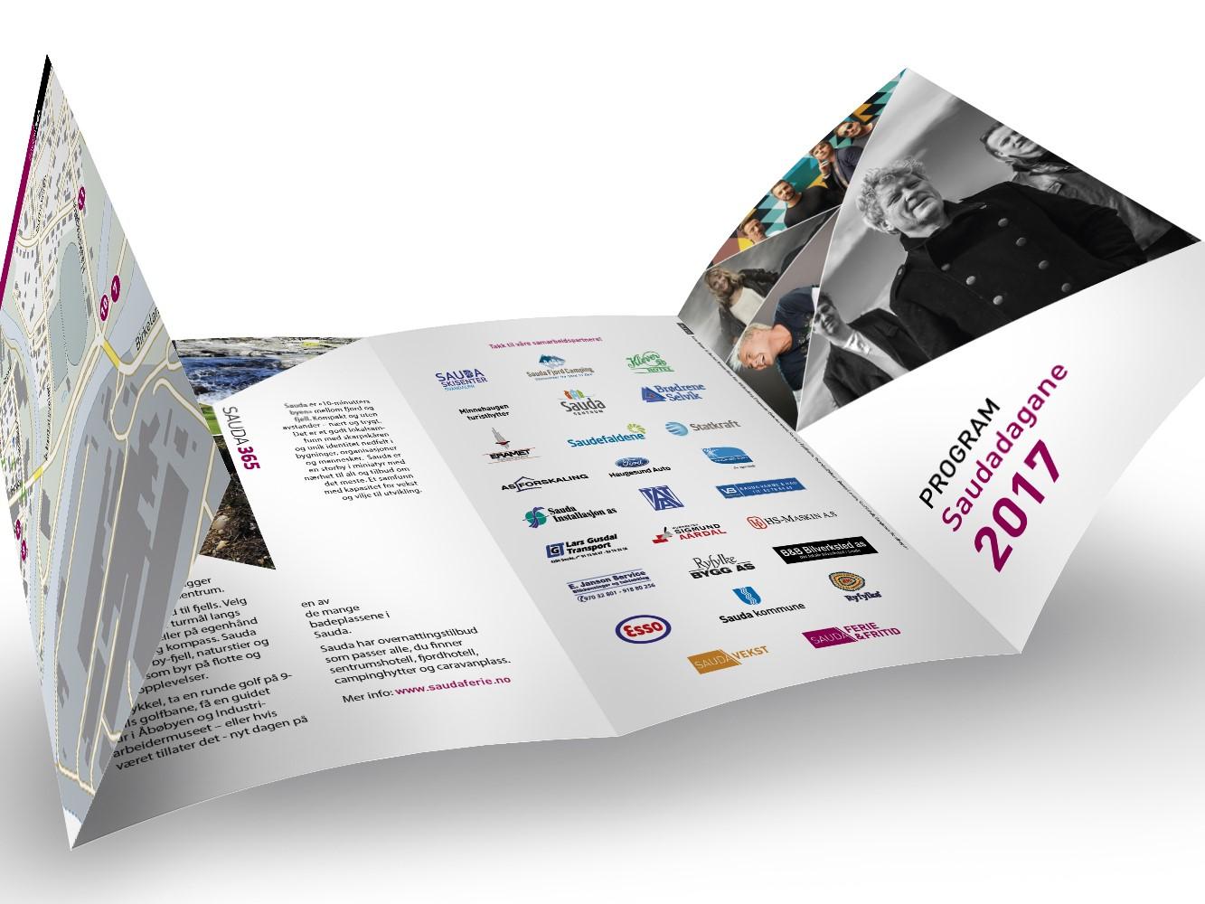 Mockup av brosjyren