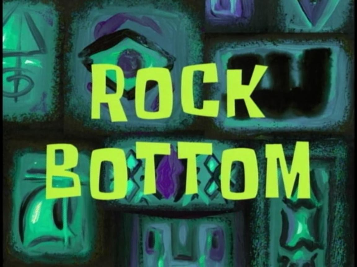 """What is """"Rock Bottom"""" – Is it a Destination?"""