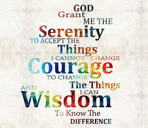 What is the serenity prayer?