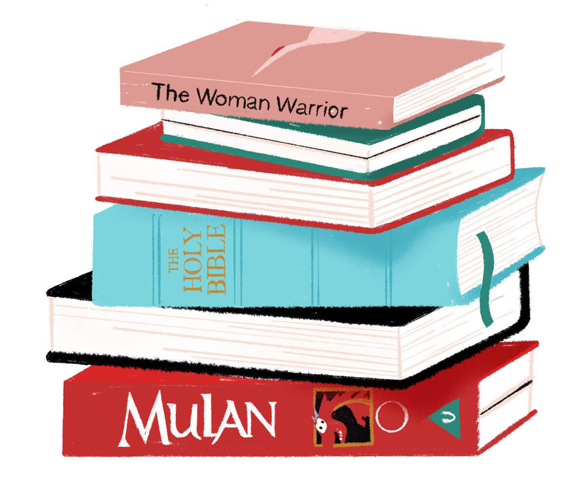 The Woman Warrior Within and About Me