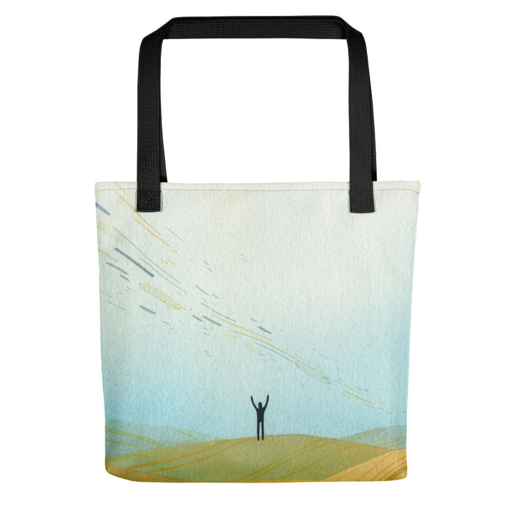 """Of Gods and Men"" Tote"