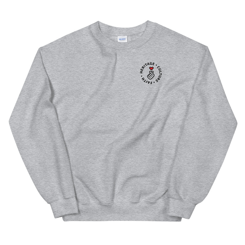 Kudos Sweatshirt (White/Grey)