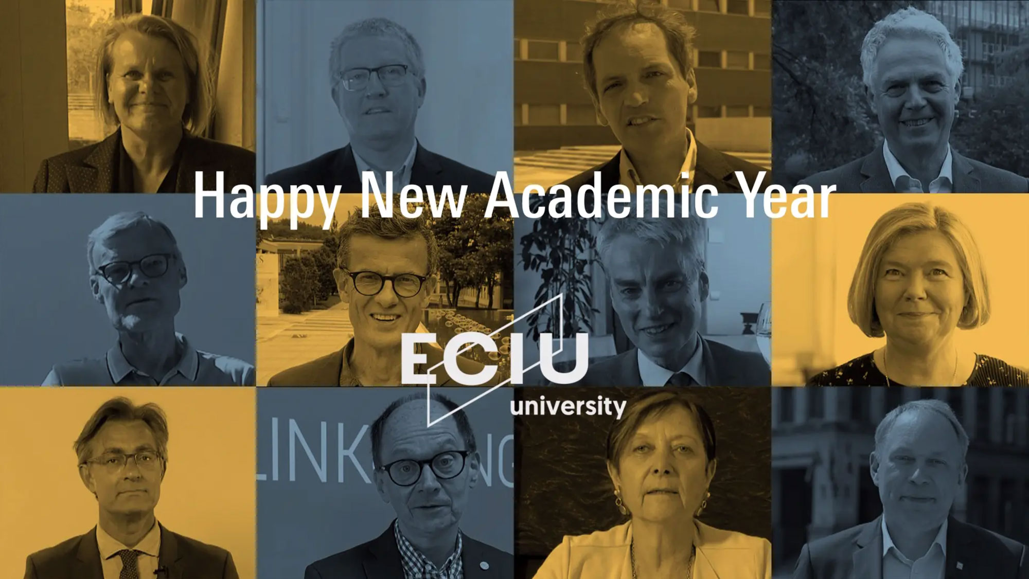 Happy New Academic Year from the ECIU University