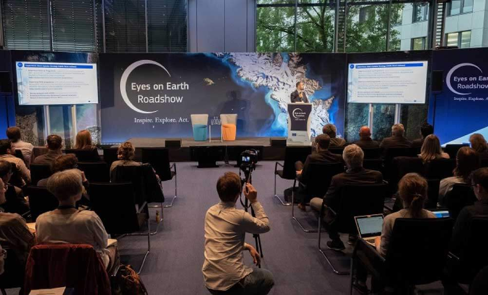 Rotterdam hosts first ever Copernicus 'Eyes on Earth' Roadshow
