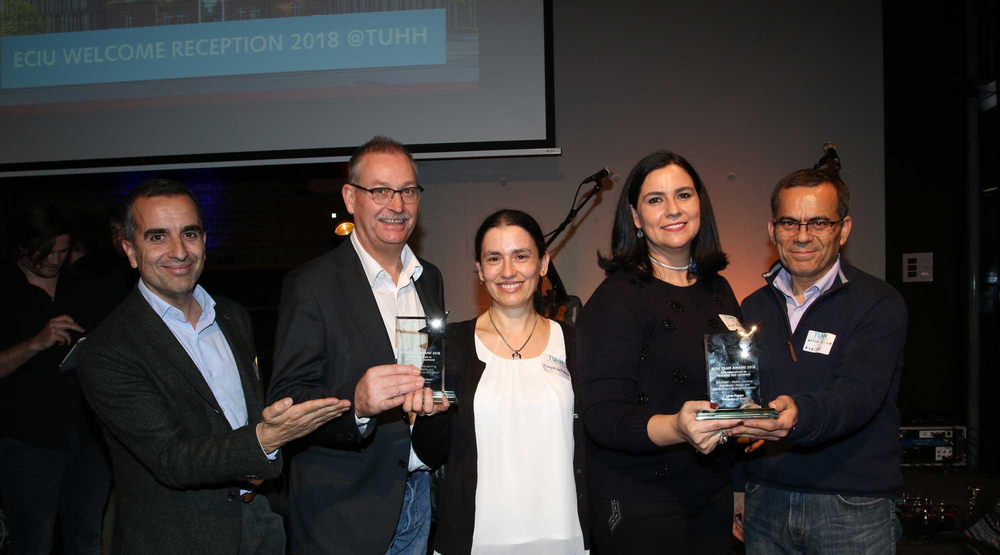 University of Aveiro Project wins the ECIU Team Award