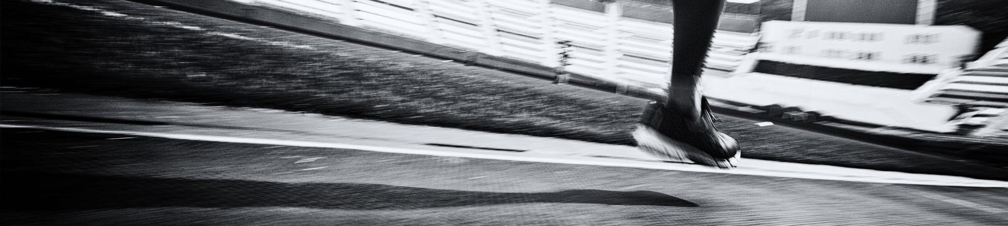 ECIU Student Team running at the Batavieren Relay Race
