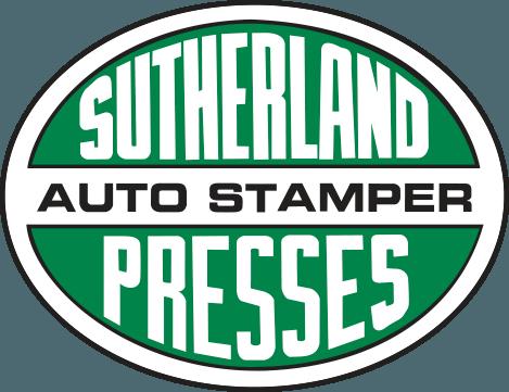 Sutherland Presses Forged metal presses Logo