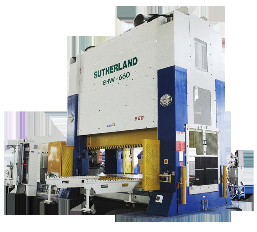 Sutherland EHW Mechanical Press