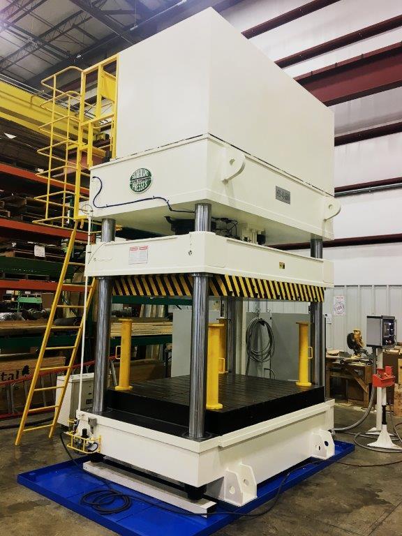 four post sutherland presses hydraulic press