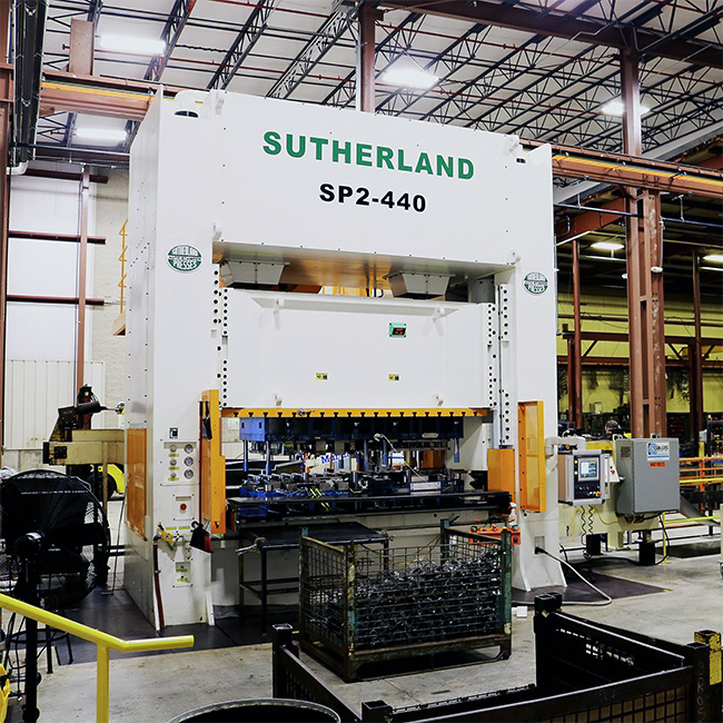 Sutherland presses mechanical press