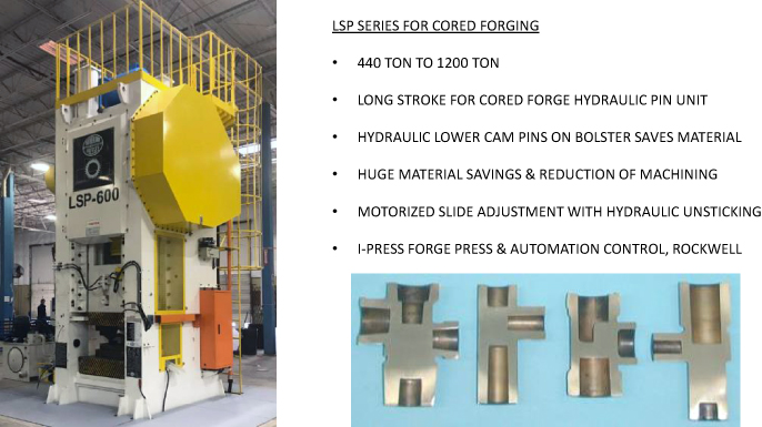Cord forge press