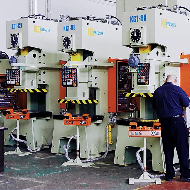 gap frame mechanical press