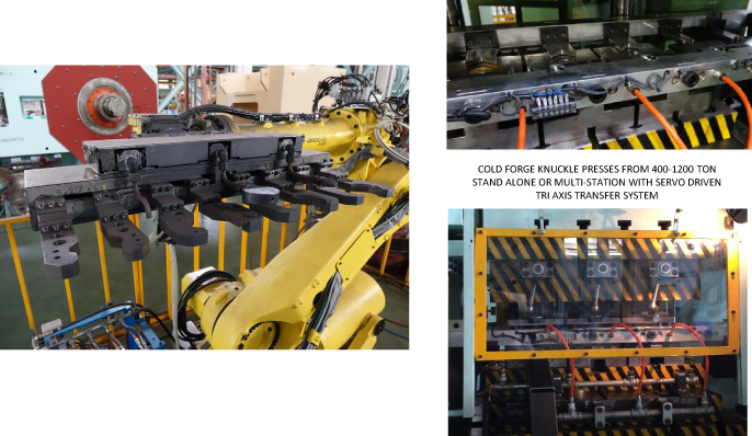 forge press robot transfer systems
