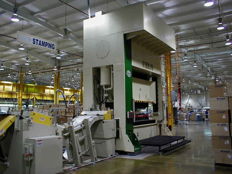 440 Ton Apex Center Drive Mechanical Stamping Press