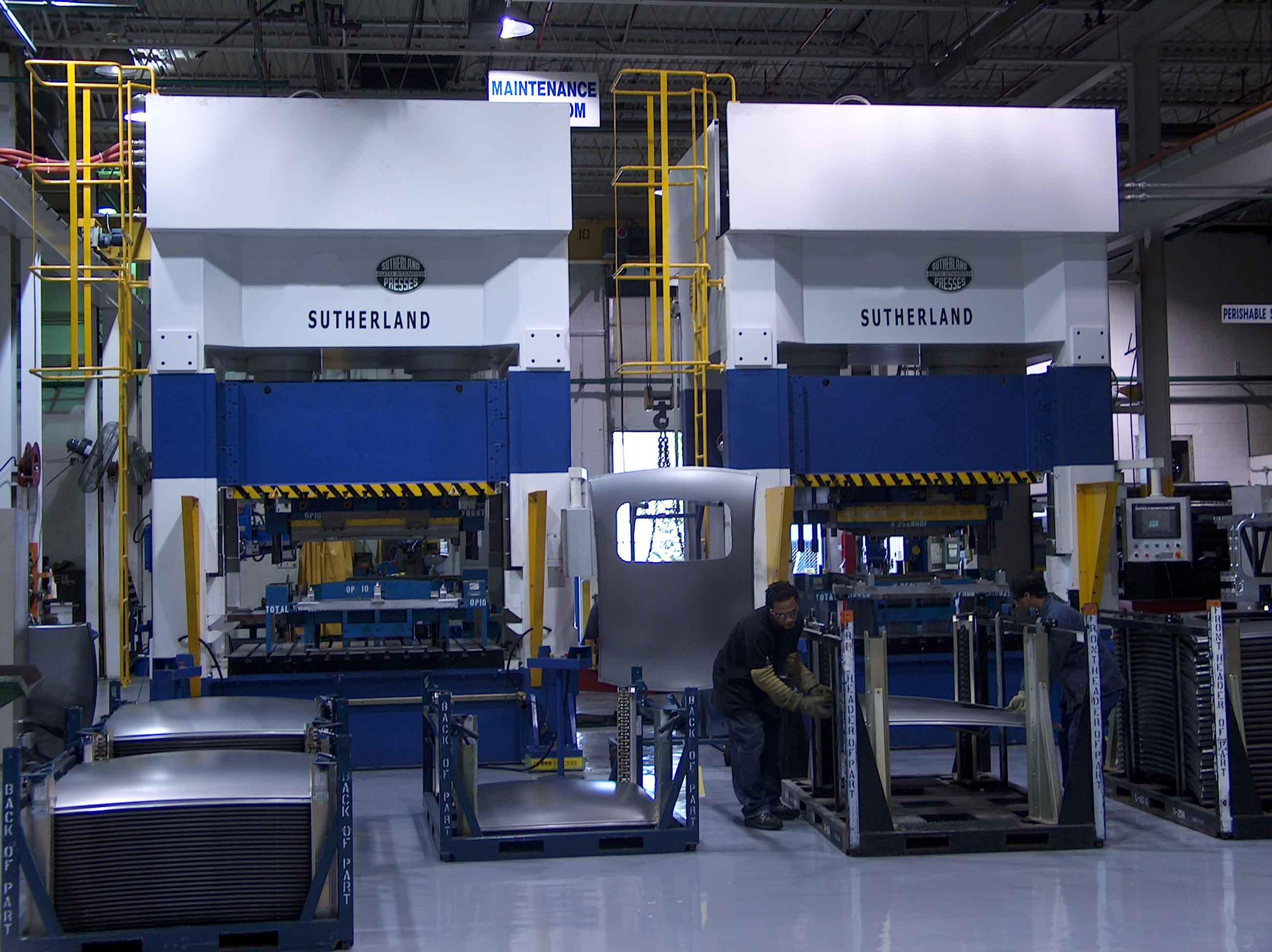 Automotive Servo Hydraulic Stamping Press Machine