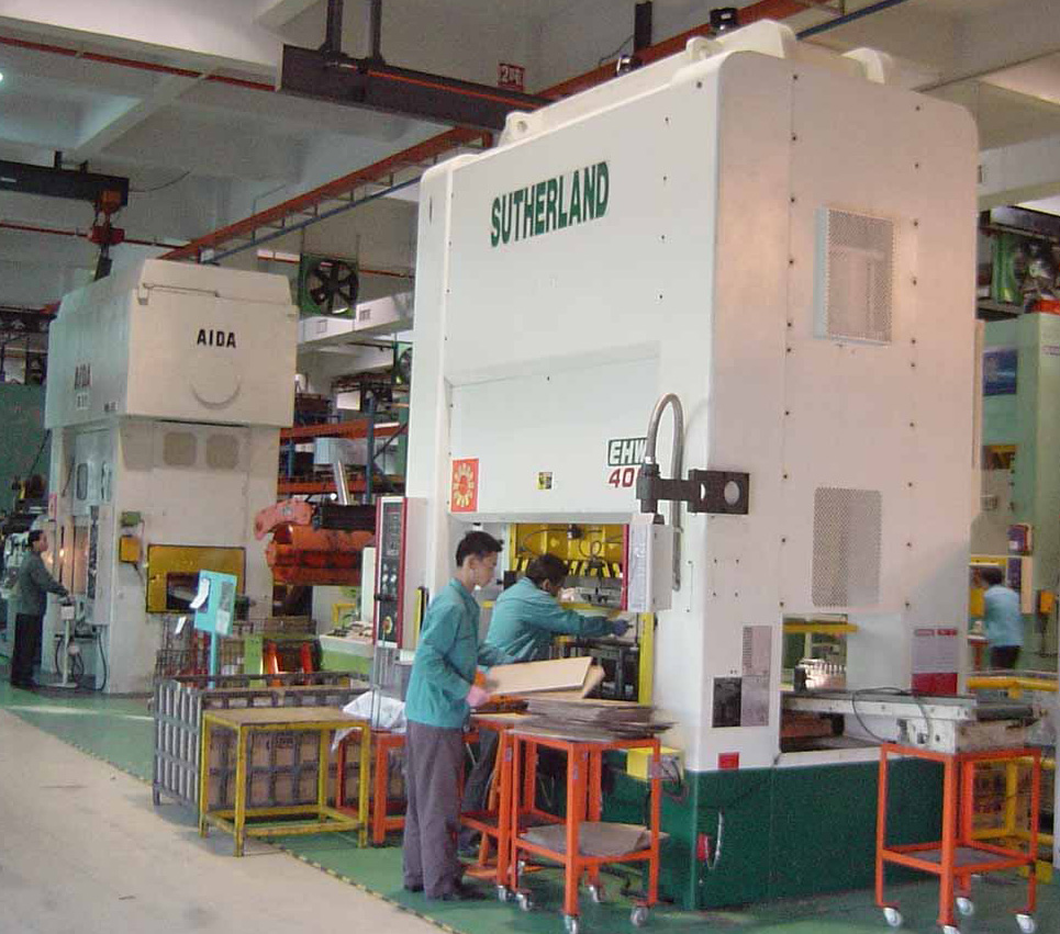 400 Ton Mechanical Stamping Press 2 Point