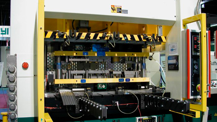 I-PRESS Automated Metal Stamping