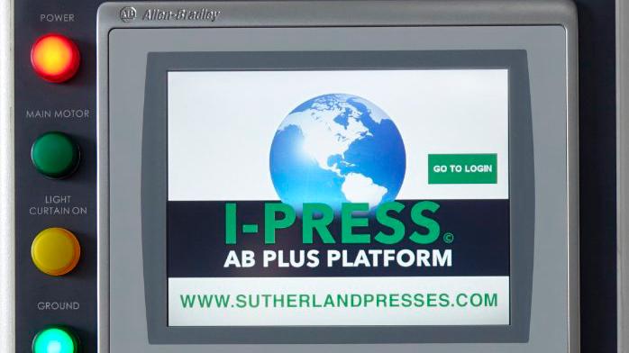 Sutherland I-PRESS Safe Press & Automation Controls