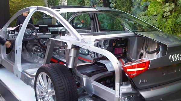 Audi Car Cutaway