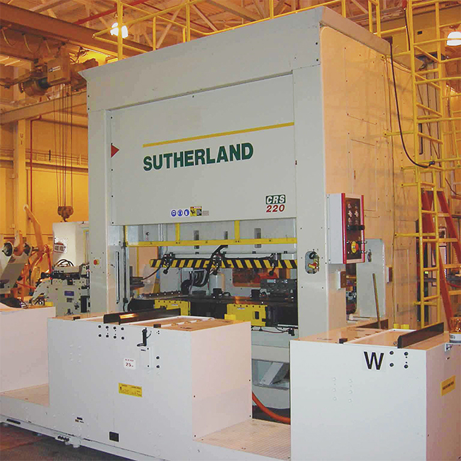 Sutherland EHW Double Point Straight Side Mechanical Stamping Press Machine