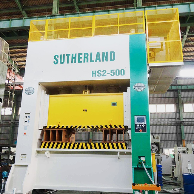 Sutherland HS2 Two Point Straight Side High Speed Mechanical Stamping Press Machine