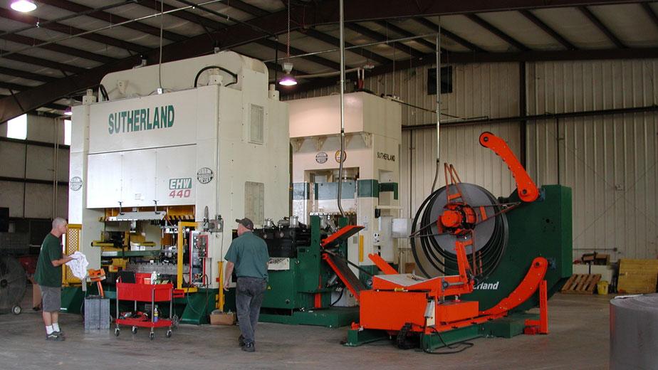 Machine Press Reverse Tonnage by Sutherland