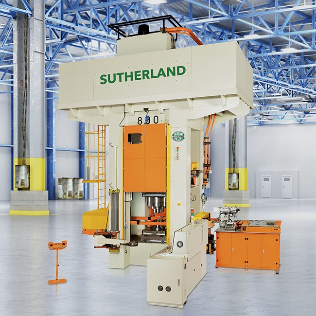 Sutherland FPG Warm Hot Mechanical Forge Press
