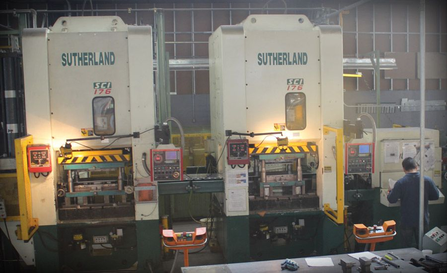 Sutherland Metal Forming Components at CEMCO